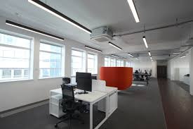 suspended office lighting. modren office slim linear office lighting for a modern refurbishment intended suspended office lighting d