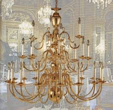 williamsburg 28 light centerhall chandelier solid brass