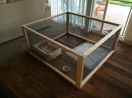 homemade dog kennels 2. DIY Dog Pen. 4x4x2 6 2x2s And 2 Rolls Of Screen $22 Homemade Kennels F