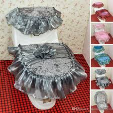 cushioned toilet seat covers. new arrival three-piece set lace toilet seat cover u-shaped overcoat case bathroom washable mat cushion ji0079 cushioned covers d