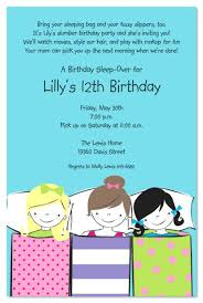 How To Make A Sleepover Invitation How To Make Sleepover Invitations Coming For Sleepover Invitations
