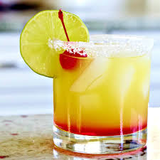 Tequila Junkie Rocks On Homemade Food Margarita Sunrise The