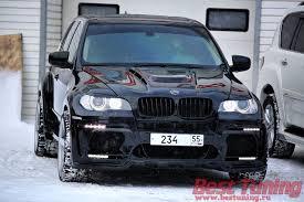 BMW X5 Hamann Tycoon EVO looking like a <b>beast in</b> the snow ...