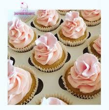 Fondant Flower Cupcakes Cupcakes Design Wedding Cupcake Ideas