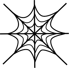 web drawing drawing a spider web how to draw a simple spider web youtube