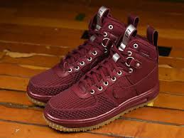 nike duck boots. image is loading new-nike-lunar-air-force-lf1-duckboot-team- nike duck boots w