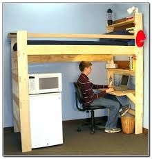 bunk bed office underneath. Bunk Bed With Desk Plans Loft Underneath Kids Beds Home Design Ideas . Office