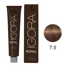 Schwarzkopf Professional Igora Hair Color 7 5 Medium Blonde Gold 2 1 Ounce