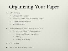 the process paper how to definition the process essay is  7 organizing