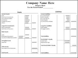 balance sheet template balance sheet template excel for small business calendar