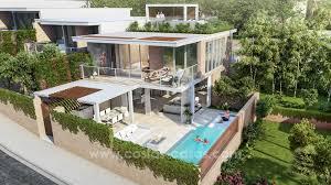 For sale in Mijas, Costa del Sol: New luxury modern villas in a resort
