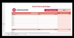 Budgeting For An Event Toolbox Budgeting Forms Grenadine Event Management Software
