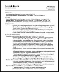 Teacher Resume Tips And Samples Resumedoc Middle School Examples