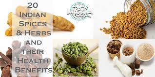 20 Indian Spices Herbs And Their Health Benefits Crazy