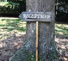 reception sign wedding wooden wedding signs rustic wood signs wedding arrow signs