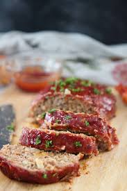 Some meatloaf recipes, such as the kitchn's, recommend baking the loaf at 350 degrees fahrenheit for 55 minutes to one hour. Classic Turkey Meatloaf Cooked By Julie