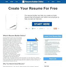 Free Resume Builder And Download Online Easy Free Resume Builder Wikirian Com