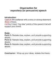 Apa Format Introduction Self Introduction Speech Outline What Is A Impromptu Sample