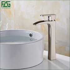 2019 whole flg basin faucet nickel brushed all copper deck mounted single lever vessel faucet bathroom tap sink mixer 144 22n from walkerstreet