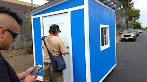 Small Picture Homeless man in LA receives a tiny house YouTube