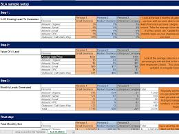 Marketing Calculator Template Free Marketing Sales Leads Goal Calculation Model Xls Templates 1
