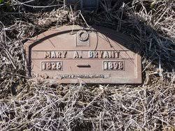 """Mary Ann """"Polly"""" Bryant Bryant (1826-1898) - Find A Grave Memorial"""