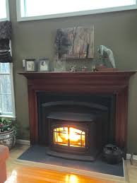 installing a wood burning fireplace insert cost install how much to stove
