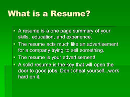 High School Student Resume' - Ppt Video Online Download
