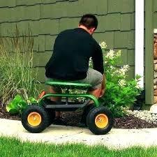 garden seat with wheels rolling garden seat rolling garden scooter scoot n do garden seat green garden seat with wheels