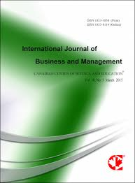 international journal of business and management