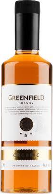 Greenfield Organic Brandy plastic bottle | Alko