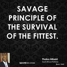 Survival Quotes Extraordinary Thabo Mbeki Quotes QuoteHD
