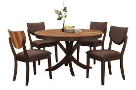 turner round dining table 4 side chairs from gardner white furniture