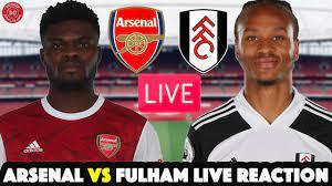 Arsenal 1 vs 1 Fulham Live Reaction (Deluded Gooner) VAR IS A JOKE | POOR  TACTICAL DECISIONS AGAIN. - YouTube