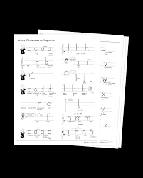 Handwriting Chart Print Spanish Print Letter Formation Charts Learning Without Tears