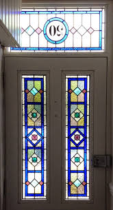 Original Victorian Stained Glass Front Door Stained Glass Doors - Decorative glass windows for bathrooms