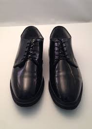 men s capps military uniform high gloss 12 5 e lace up dress corfam shoes size 12 5 e color black condition pre owned defects small pin size