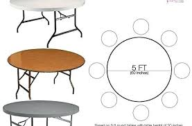 round table for 5 furniture stylish foot regarding 8 good to know cloth seating capacity amazing