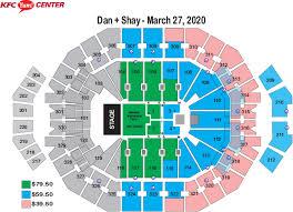 Yum Center Seating Chart Louisville Basketball Seating Charts Kfc Yum Center