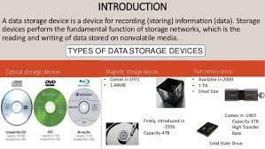 data storage devices evolution of data storage device amit kumar