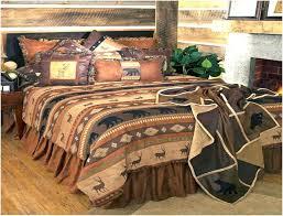 cabin bedding sets rustic cabin bedding sets