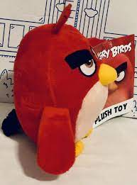 """Angry Birds 2 ZETA Stuffed Plush Purple Toy Factory Movie Promo Doll 8"""" for  sale online"""