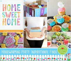 party finds for planning a housewarming party from printables to decor