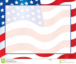 american template american flag template poster or postcard background united states