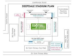 Pne Summer Concert Seating Chart Deepdale Stadium Guide Preston North End Football Tripper