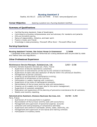 Stna Resume Sample Stna Resume Sample Professional Cna Samples Landman Examples Example 1