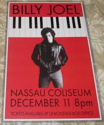 Billy joel, vienna, vienna waits for you, song, singer, music, city, europe, the stranger, fan art, piano, piano man, uptown girl, pop, shes. Billy Joel 1977 Nassau Coliseum Stranger Tour Replica Concert Poster
