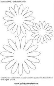 df56c82b360bf2d59b68a2cb3b99e2b2 jennifer clark wafer paper flowers printable flower pattern, use for fabric flowers for a craft for on how to do templates