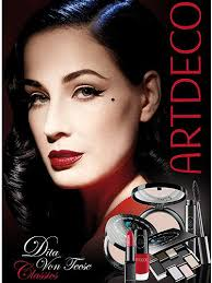 there s no stopping dita von teese right now fresh from launching her own fragrance being the face of cointreau and penning her own style book due for