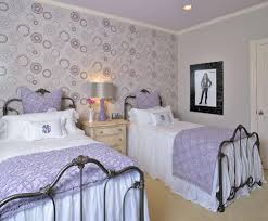 Purple Wallpaper For Bedroom Pink Purple Damask Wallpaper Bedroom Contemporary With Light Pink